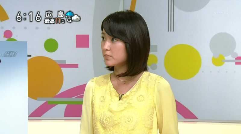 近江友里恵アナウンサーのイエロー